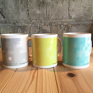 THE ACE SHOP | Pixcel Mug designed by Morvan Guenier