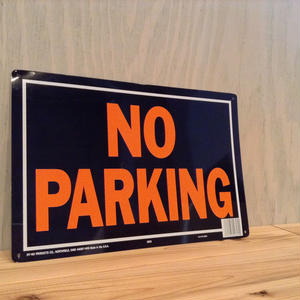 LITTLE CALIFORNIA | ACE SIGN [NO PARKING]