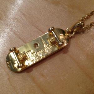 NIACオリジナルsk8ネックレス gold