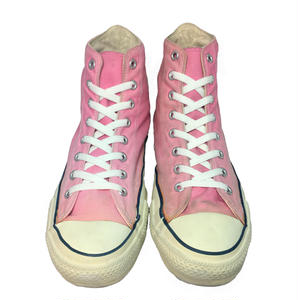 80's CONVERSE ALL STAR Hi LIGHT PINK