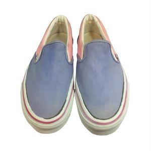 80's VANS SLIP-ON BLUE/PINK