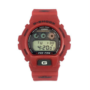 CASIO G-SHOCK FOX FIRE DW-6900H-4 RED