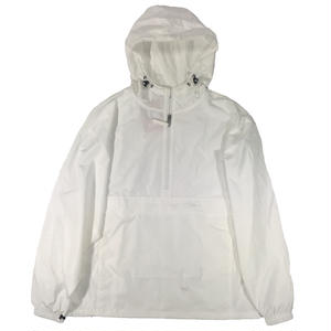 CHAMPION x NYU ANORAK JACKET WHITE