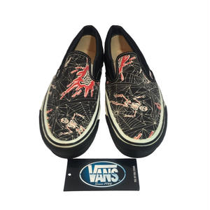 VANS SLIP-ON 90's SPIDER&SKULL Made in USA