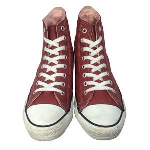 90's CONVERSE ALLSTAR Hi LEATHER RED