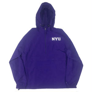 CHAMPION x NYU ANORAK JACKET PURPLE