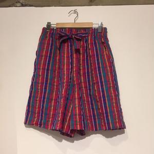 made in USA short pants check