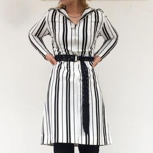 """70's """"Stripe one-piece"""