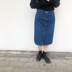 90's〜 センタースリットデニムスカート
