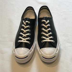 """""""CONVERSE"""" JACK PURCELL SIGNATURE Black leather"""
