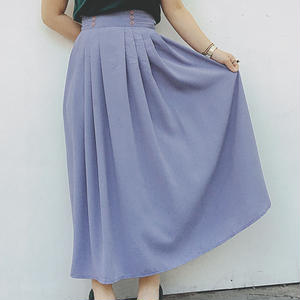 long skirt light purple