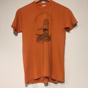 1980's made in USA T shirt orange lion