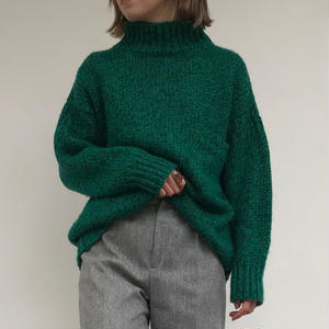 1980's GREEN KNIT
