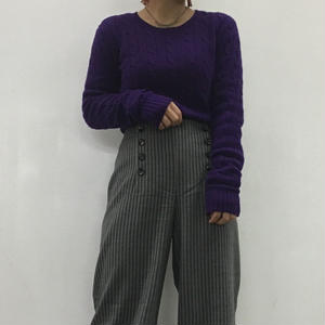 Ralph Lauren  RAGBY purple knit