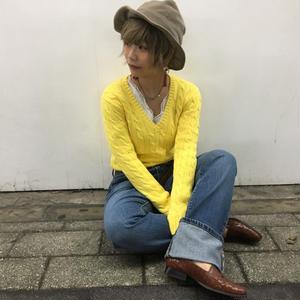 Ralph Lauren sport  yellow knit
