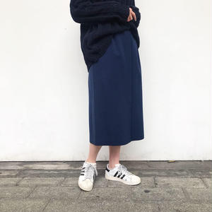 made in France フロントボタンスカート