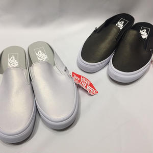 USA企画 VANS BRUSHED METALLIC SLIP-ON MULE