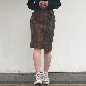 1970's SUBURBIA TWEED SKIRT