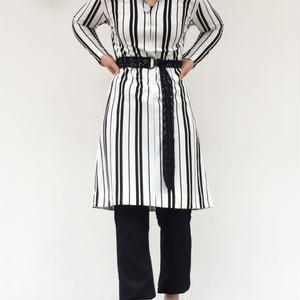 "70's ""Stripe one-piece"