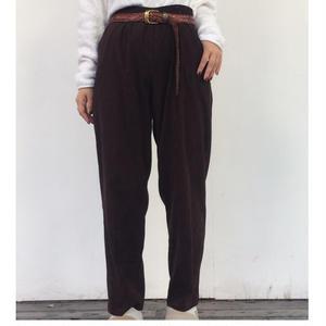 BRIGGS NEW YORK nubuck pants