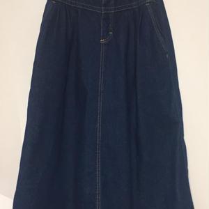 1980's Lee made in USA denim skirt
