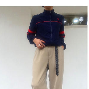 """80's """"FRED PERRY"""" ベロアジャージ made in USA"""