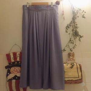 long skirt light purple