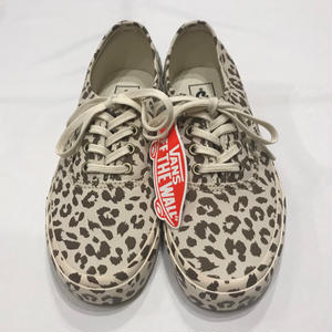 USA企画 VANS AUTHENTIC MONO PRINT LEOPARD