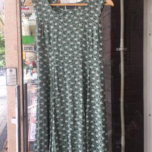 1980's one-piece dress