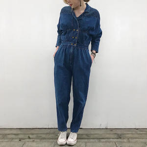 1980's DENIM ALL IN ONE