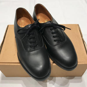 """DEAD STOCK"" ROYAL NAVY OFFICER SHOES MADE IN ENGLAND"