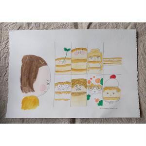 朝倉世界一作品『ホットケーキのおうさま:場面4』