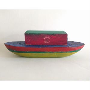 nakaban木製オブジェ:船「ANGOLA」
