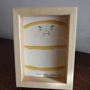 朝倉世界一作品『ホットケーキ:おおきい』
