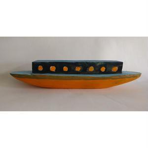 nakaban木製オブジェ:船「NORD」