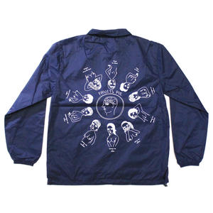 """Pie"" Coach jacket #Navy - by SHUNTAROU TAKEUCHI × RYUHEI KOBOSHI"