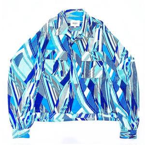 Open-necked Shirt - Crepe de Chine
