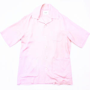 Open-necked - S/S #Pink
