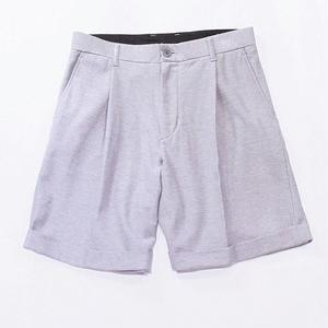 Bermuda shorts - knit twill