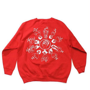 "RE: ""Pie"" or ""Oiran"" Crew neck sweat - by SHUNTAROU TAKEUCHI × RYUHEI KOBOSHI"