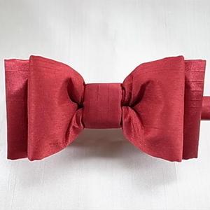 ボリュームレイヤード蝶ネクタイ Red