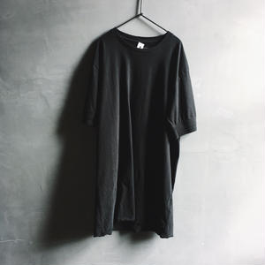 BASIC COTTON TEE - S (BLACK)