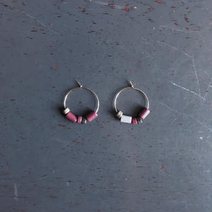 EGRET - Land Earrings (Plum)