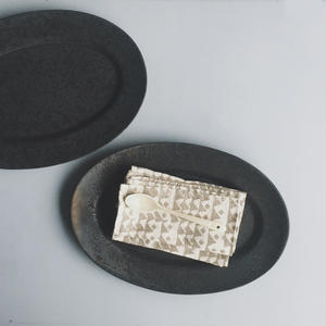 OVAL PLATE - L