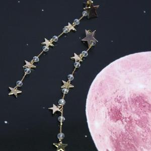 gold mini star pierce