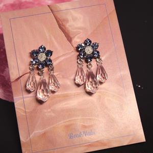 jewel flower pierce