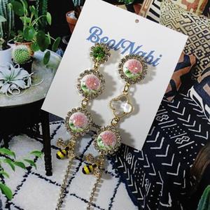 flower & bee pierce