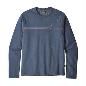 Patagonia(パタゴニア) メンズ・タイド・ライド・ライトウェイト・クルー・スウェットシャツ  #39551  Dolomite Blue (DLMB)