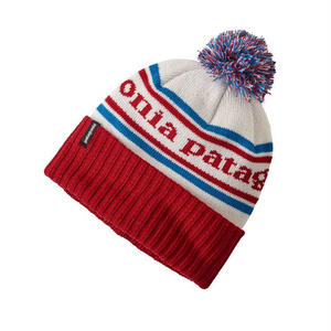 Patagonia(パタゴニア) キッズ・パウダー・タウン・ビーニー  #66061  Park Stripe: Classic Red/Balkin Blue (PSRE)
