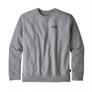Patagonia(パタゴニア) メンズ・P-6 ラベル・アップライザル・クルー・スウェットシャツ  #39543  Gravel Heather (GLH) [商品管理番号:31-pt39543]